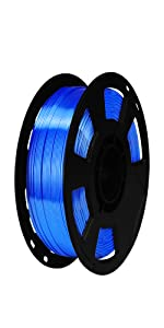 silk sapphire blue 1.75mm pla filament
