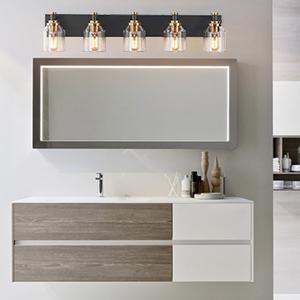 LED bathroom light fixture