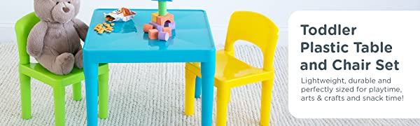 lightweight durable and perfectly sized for playtime arts and crafts and snacks