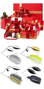 2 Pack & 4 Pack Spinner Bait Kits