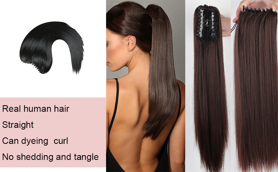 claw clip in hair extension