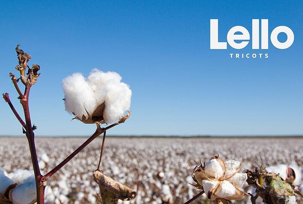 Lello logo organic cotton