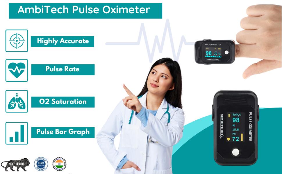 Features Pulse Oximeter