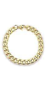 gold chain link bracelet for men jewelry baronyka gift husband boyfriend