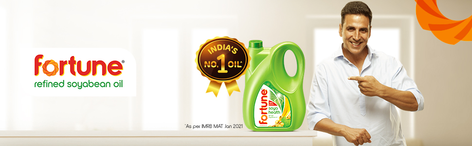 Fortune Refined Soyabean Oil - India's Number 1 Oil