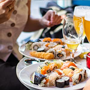 sushi kimbap fish roll roller rolling making maker fun family business