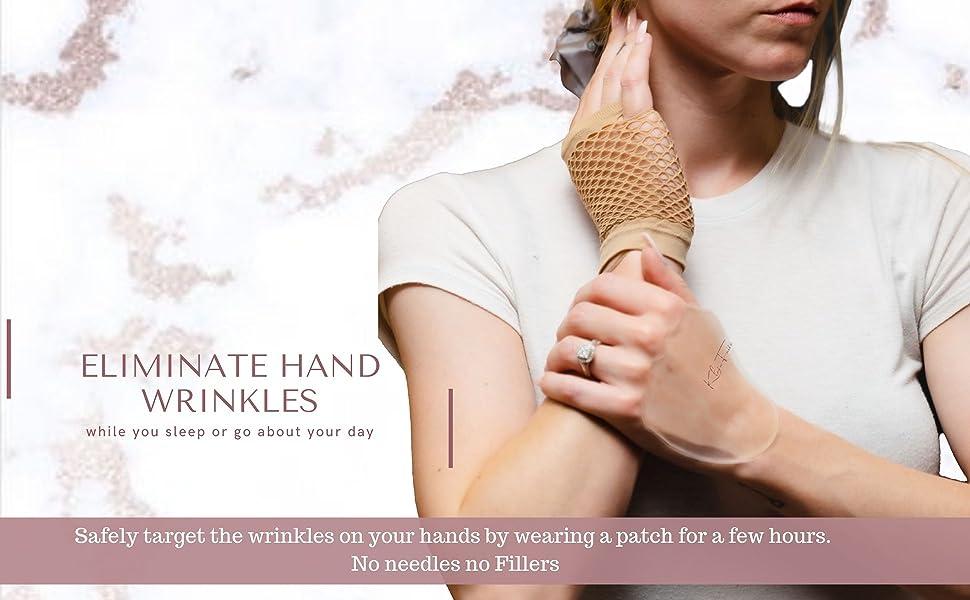 Hand wrinkle pads