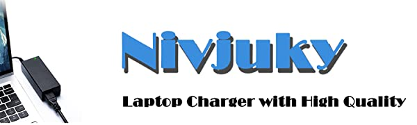 Nivjuky Ac Laptop Charger with High Quality