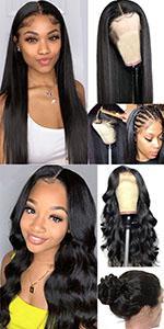hd lace human hair wigs