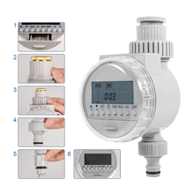 Handy to install and use this irrigation timer