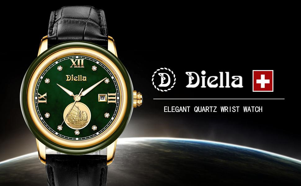 Diella Men's Quartz Wrist Watch