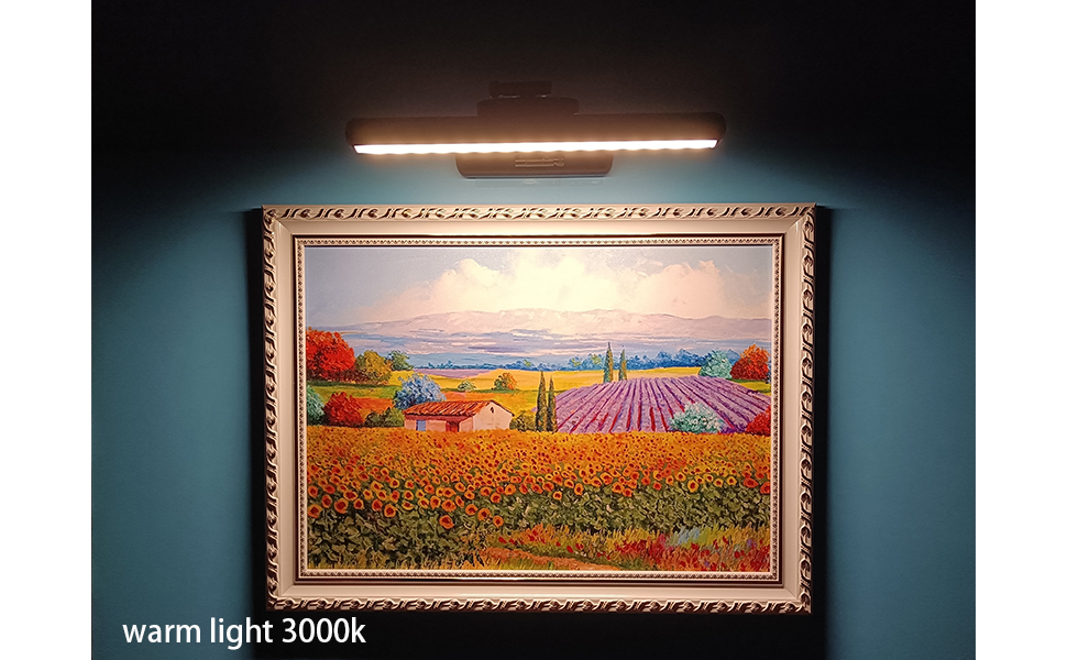 wireless picutre light for painting fram on wall