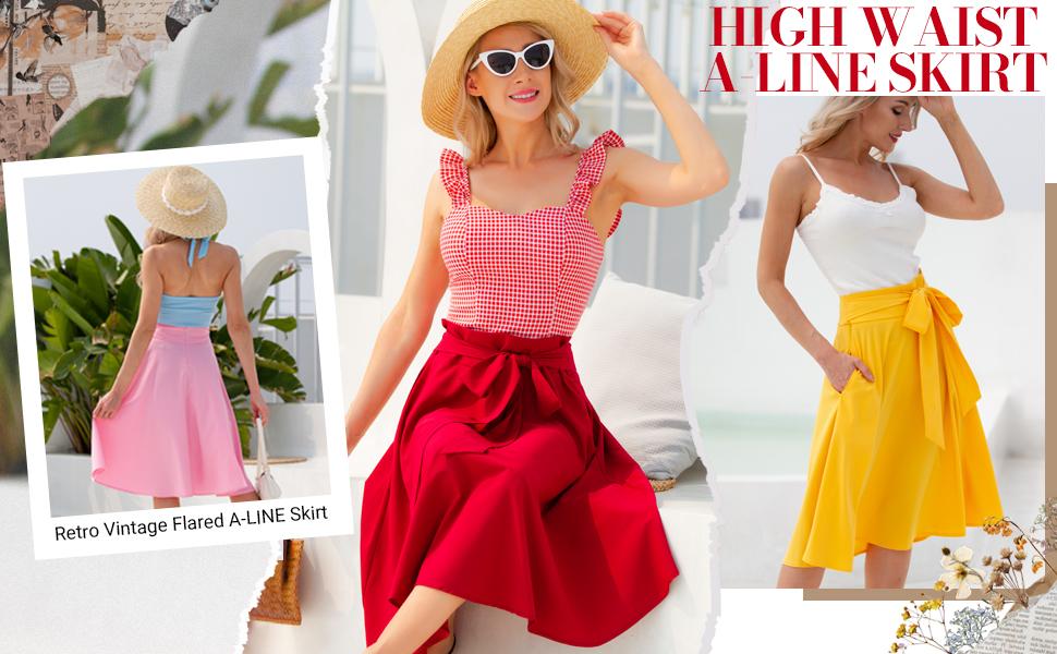 a line skirt for women