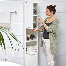 armoire rangement solution rangement rangement serviettes salle de bain armoire pharmacie meuble