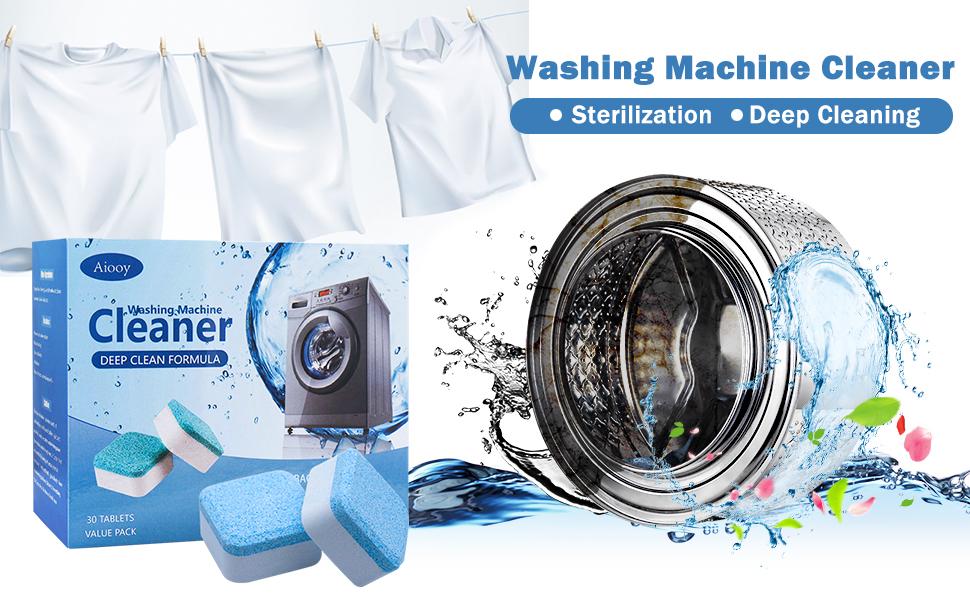 Effervescent Tablet Washer Cleaner