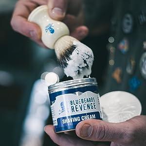 The Bluebeards Revenge, Hair Care, Merchandise, Skin care, mens grooming, grooming, shave cream