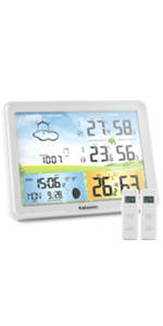 atomic weather station with 2 sensors