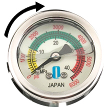 Accurate display, explosion-proof pressure protection, safe and assured