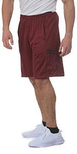 mens dryfit shorts