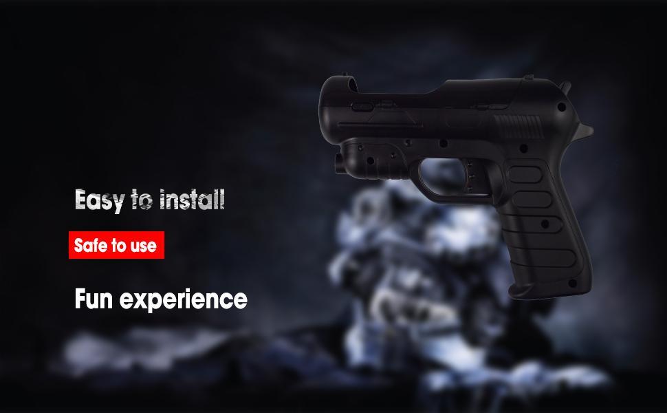 PS3 Controller Games Gun