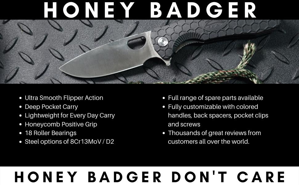 Honey Badger Knife Main Features