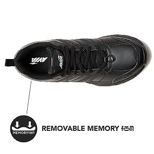 Cantilever Black Non Slip Shoe Sneaker