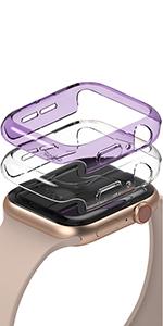 Slank en licht pc-behuizing voor Apple Watch 40mm [2 Pack]