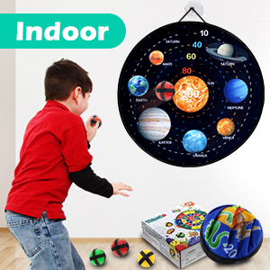 dart board for kids with sticky balls sucker toys gifts for 3-12 years old indoor family games