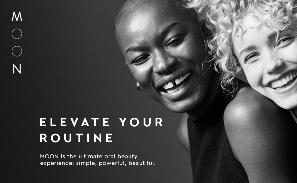 elevate your routine moon oral care