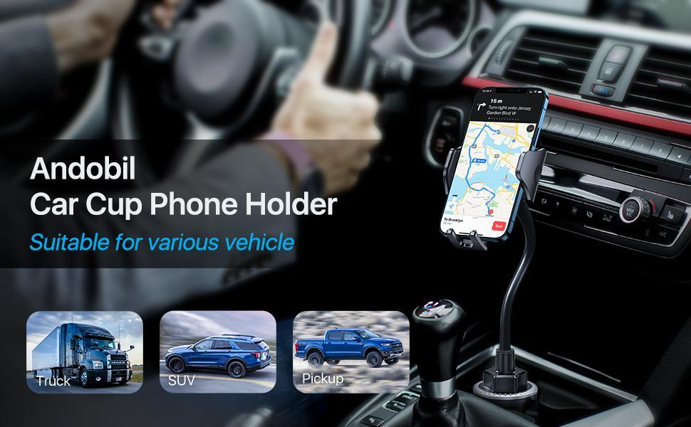 cup holder phone holder