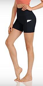 525 yoga shorts with pockets
