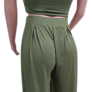 nqgsntc Workout 2 Piece Short Sleeve Crop Top High Waist Sweatsuit Daily Wear