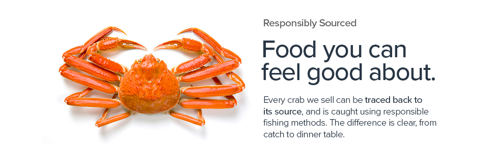 Responsibly sourced.