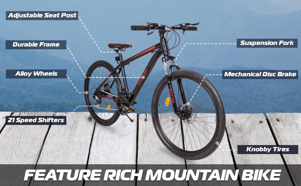 Mountain Trail Bike Details Cycle Labs