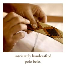 handcrafted polo belts