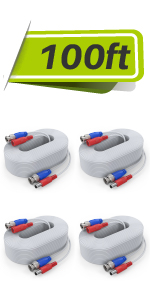 bnc cable wire white