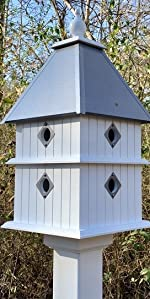 8 Compartments bird house