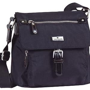 Praktische Überschlagtasche aus sehr leichtgewichtigem Nylon.