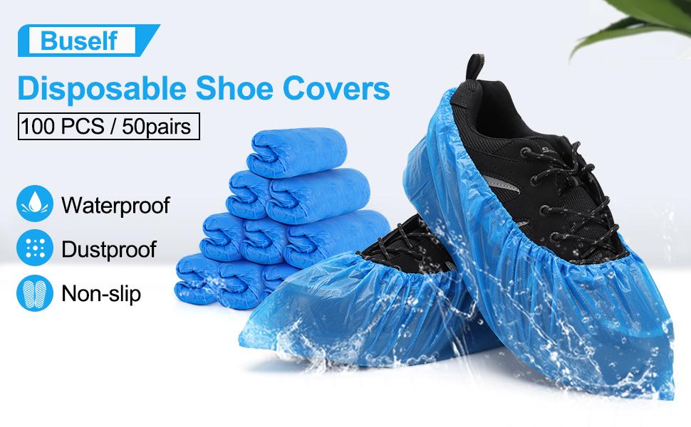 shoe covers disposable non slip