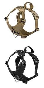 dog strap harness reflective