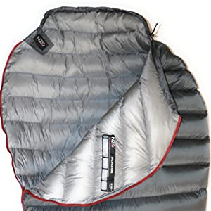 Soft Ultralight Nylon Fabric with 900 Down Fill