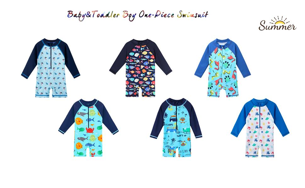 toddler swimsuit boy one piece