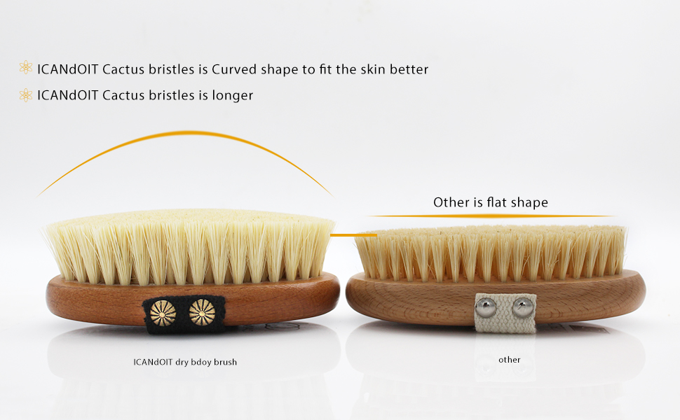 ICANDOIT-dry body brush set high quality