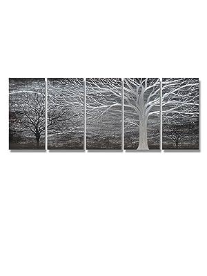 tree metal wall art
