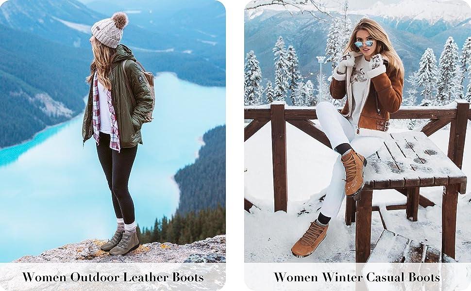 WOMEN WINTER BOOTIES