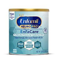 Can of Enfamil NeuroPro Enfacare