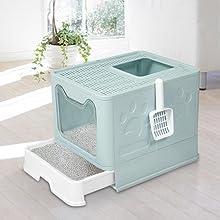 stable cat litter box