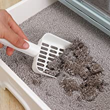 Easy to clean cat litter