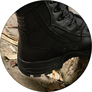 8'' Inch Military Tactical Boots