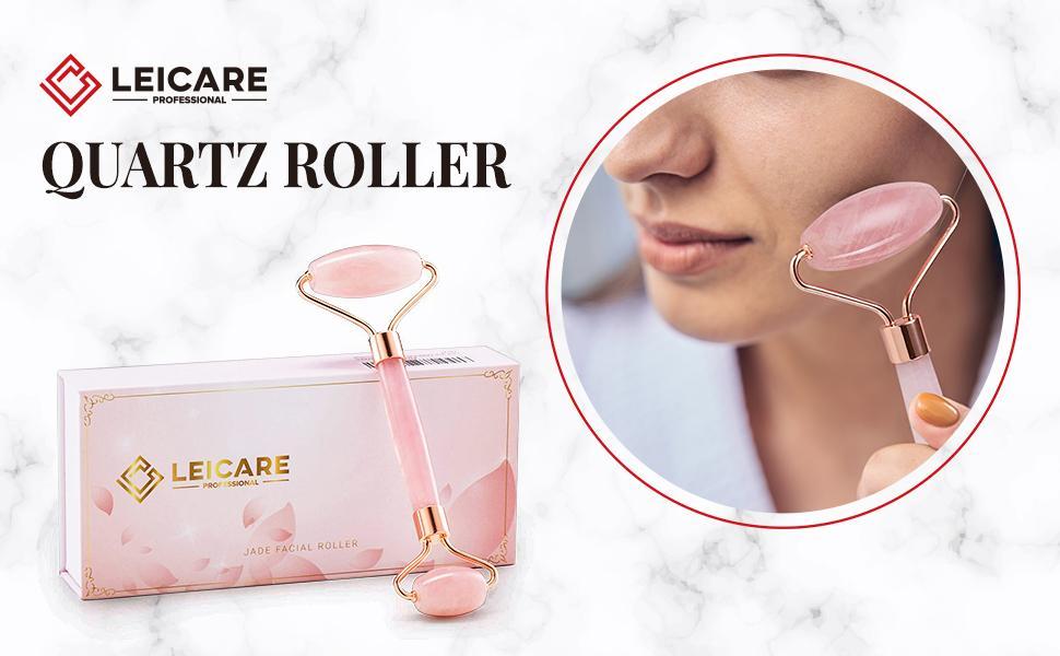 Quartz Roller skin tightening anti aging face massage eye puffiness lift firming